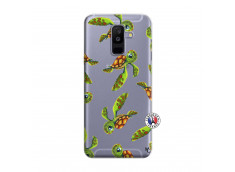 Coque Samsung Galaxy A6 Plus Tortue Géniale