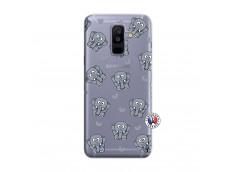 Coque Samsung Galaxy A6 Plus Petits Elephants