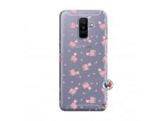 Coque Samsung Galaxy A6 Plus Petits Moutons