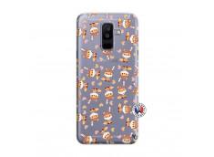Coque Samsung Galaxy A6 Plus Petits Renards