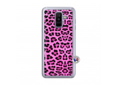 Coque Samsung Galaxy A6 Plus Pink Leopard Translu