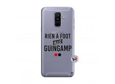 Coque Samsung Galaxy A6 Plus Rien A Foot Allez Guingamp