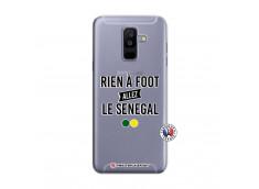 Coque Samsung Galaxy A6 Plus Rien A Foot Allez Le Senegal