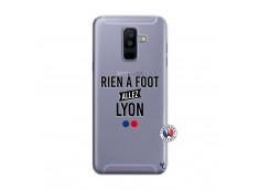 Coque Samsung Galaxy A6 Plus Rien A Foot Allez Lyon