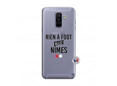 Coque Samsung Galaxy A6 Plus Rien A Foot Allez Nimes