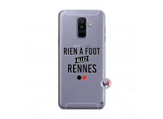 Coque Samsung Galaxy A6 Plus Rien A Foot Allez Rennes