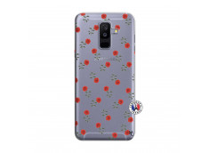 Coque Samsung Galaxy A6 Plus Rose Pattern