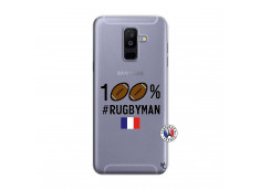 Coque Samsung Galaxy A6 Plus 100% Rugbyman