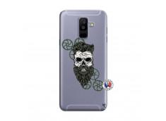 Coque Samsung Galaxy A6 Plus Skull Hipster