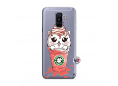 Coque Samsung Galaxy A6 Plus Catpucino Ice Cream