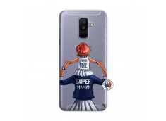Coque Samsung Galaxy A6 Plus Super Maman Et Super Bébé