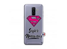 Coque Samsung Galaxy A6 Plus Super Maman