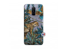 Coque Samsung Galaxy A6 Plus Leopard Jungle