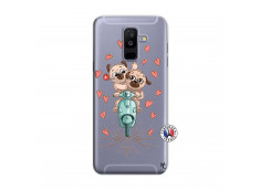 Coque Samsung Galaxy A6 Plus Puppies Love
