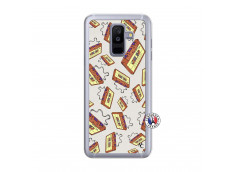 Coque Samsung Galaxy A6 Plus Vintage Tape Translu