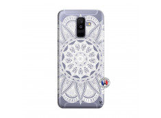 Coque Samsung Galaxy A6 Plus White Mandala