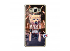 Coque Samsung Galaxy A7 2015 Cat Nasa Translu