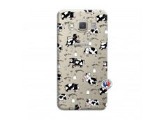 Coque Samsung Galaxy A7 2015 Cow Pattern