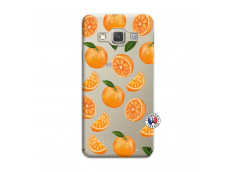 Coque Samsung Galaxy A7 2015 Orange Gina