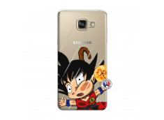 Coque Samsung Galaxy A7 2015 Goku Impact