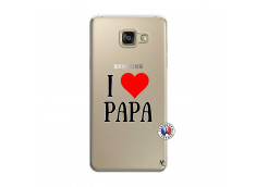 Coque Samsung Galaxy A7 2015 I Love Papa