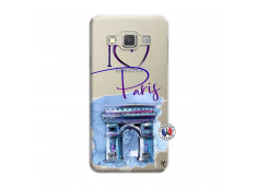 Coque Samsung Galaxy A7 2015 I Love Paris, i love Arc de Triomphe