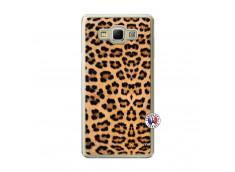 Coque Samsung Galaxy A7 2015 Leopard Style Translu