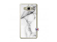 Coque Samsung Galaxy A7 2015 White Marble Translu