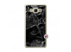 Coque Samsung Galaxy A7 2015 Black Marble Translu