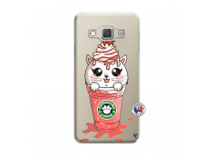 Coque Samsung Galaxy A7 2015 Catpucino Ice Cream