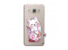 Coque Samsung Galaxy A7 2015 Smoothie Cat