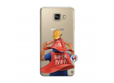Coque Samsung Galaxy A7 2015 Super Papa et Super Bébé