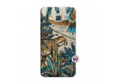 Coque Samsung Galaxy A7 2015 Leopard Jungle