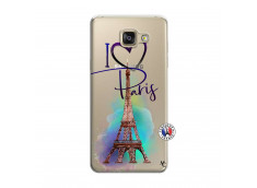 Coque Samsung Galaxy A7 2015 i Love Paris