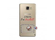 Coque Samsung Galaxy A7 2015 Je peux pas j'ai Handball