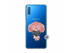 Coque Samsung Galaxy A7 2018 Bouquet de Roses