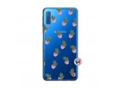 Coque Samsung Galaxy A7 2018 Cactus Pattern