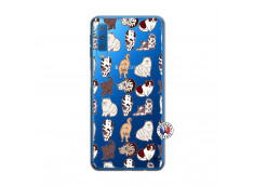 Coque Samsung Galaxy A7 2018 Cat Pattern