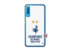Coque Samsung Galaxy A7 2018 Champion Du Monde Translu