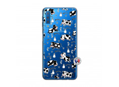 Coque Samsung Galaxy A7 2018 Cow Pattern