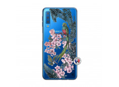Coque Samsung Galaxy A7 2018 Flower Birds
