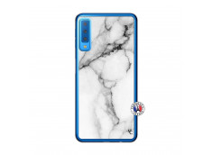 Coque Samsung Galaxy A7 2018 White Marble Translu