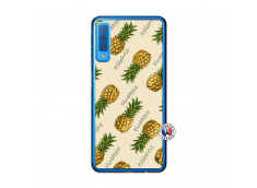 Coque Samsung Galaxy A7 2018 Sorbet Ananas Translu