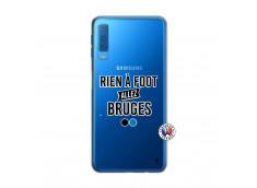 Coque Samsung Galaxy A7 2018 Rien A Foot Allez Bruges