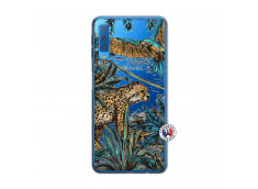 Coque Samsung Galaxy A7 2018 Leopard Jungle