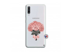 Coque Samsung Galaxy A70 Bouquet de Roses