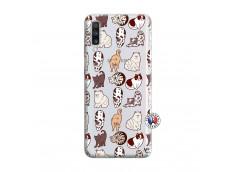 Coque Samsung Galaxy A70 Cat Pattern