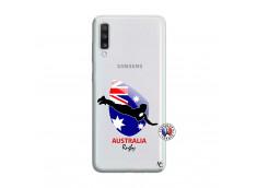 Coque Samsung Galaxy A70 Coupe du Monde Rugby-Australia