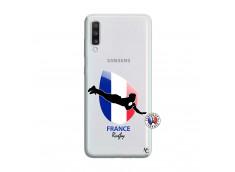Coque Samsung Galaxy A70 Coupe du Monde de Rugby-France