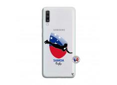 Coque Samsung Galaxy A70 Coupe du Monde Rugby-Samoa
